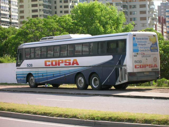 Copsa Bus picture in Punta del Este Uruguay