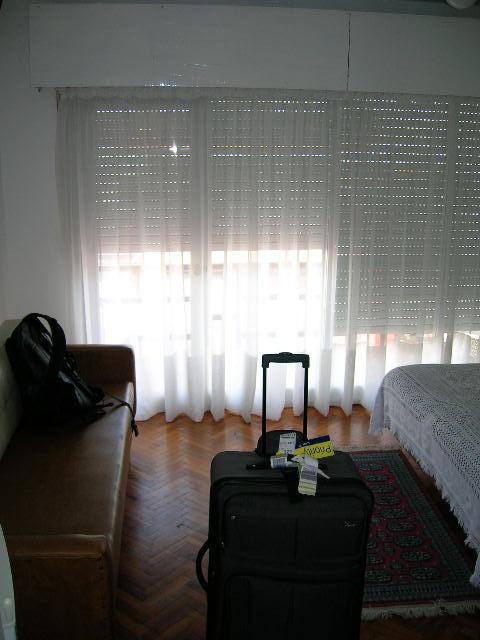 My hotel room in Punta del Este Uruguay