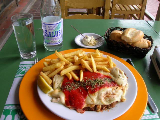 Milanesa Uruguay picture