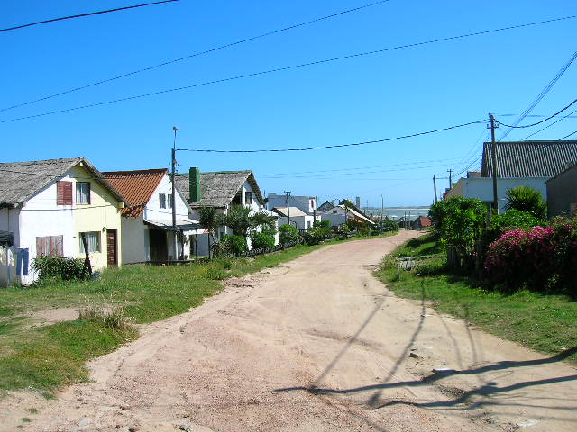 Picture of the  Streets of Punta del Diablo