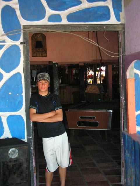 Boy in Punta del  Daiblo Picture
