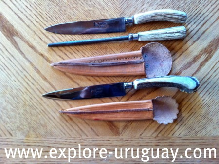 Uruguay Gaucho Knife and  Knives