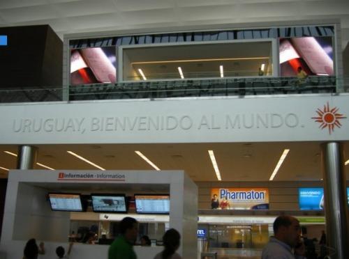 Montevideo Airport Uruguay