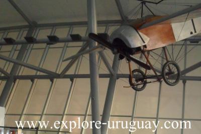 Exhibition inside  Carrasco International Airport
