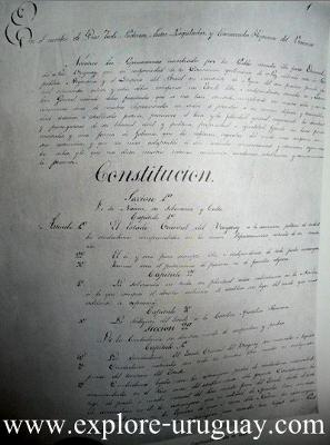 Uruguay Constitution