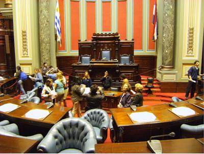 Legislative Palace - Chamber of Deputies, Montevideo Uruguay