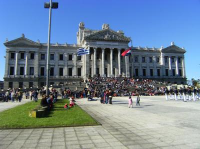 Uruguay's Legislative Palace