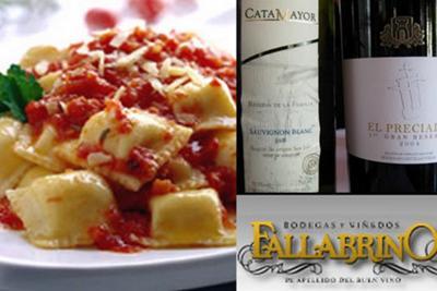 Raviole in Tomato Sauce