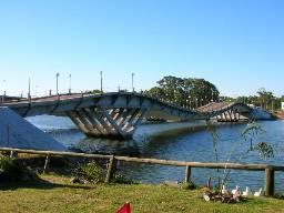 La Barra Uruguay Bridge picture