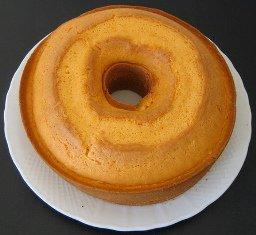 Orange White Cake