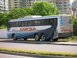 Travel in Uruguay Copsa Bus picture
