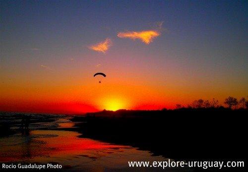 Carrasco beach Uruguay