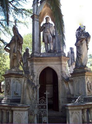 Mausoleum in Paysandu Cemetery