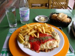 About Uruguay Food Milanesa