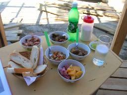Punta del Diablo Uruguay  meal